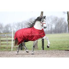 MASTER winter rug metallic red 150g