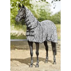 Busse Paddock Fly Rug Comfort Zebra