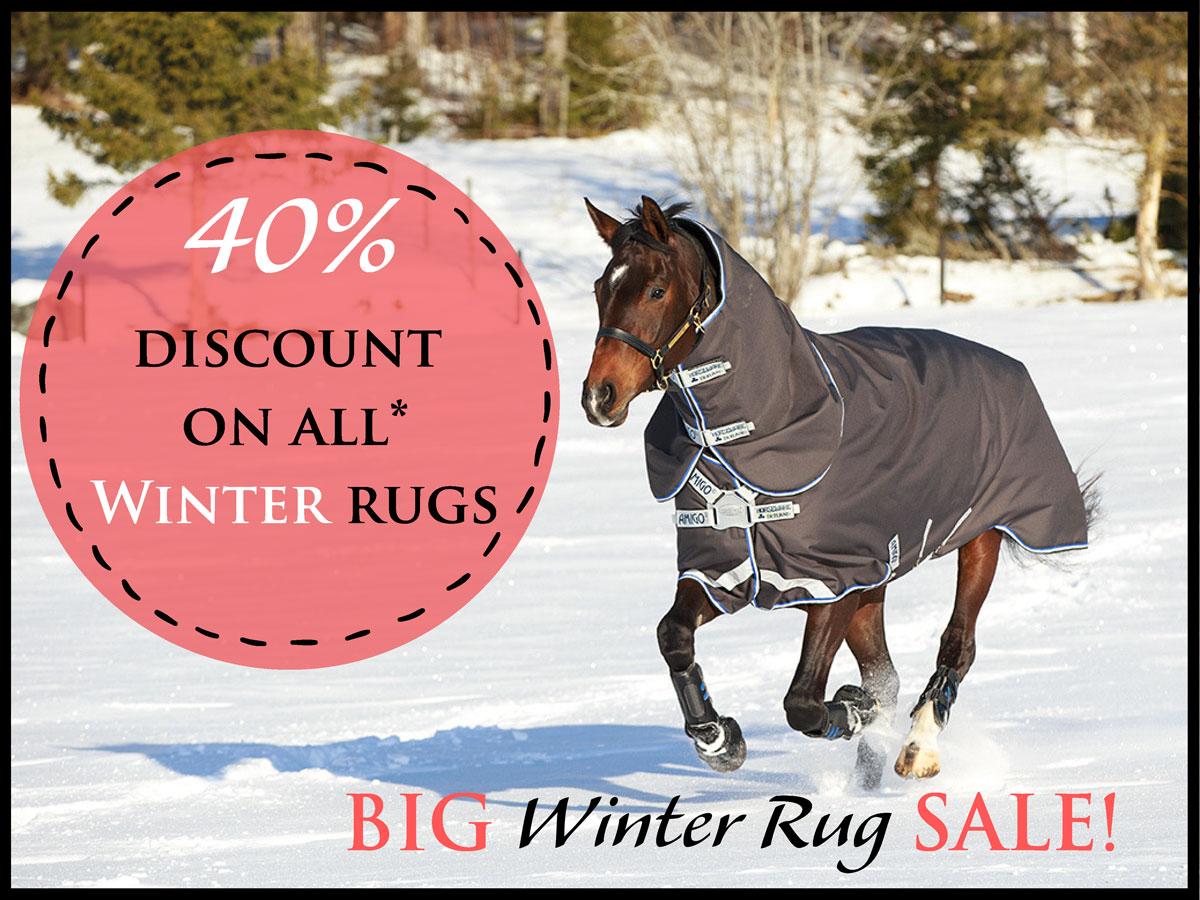 Big Winter Rug Sale