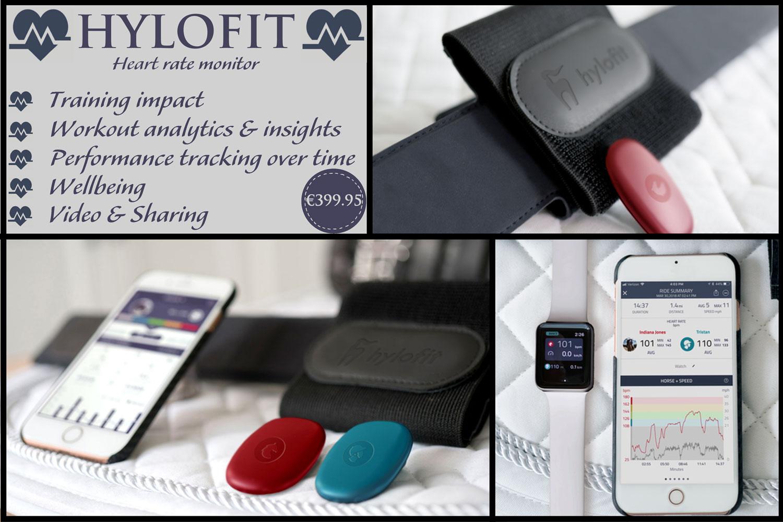 Hylofit heart rate monitor