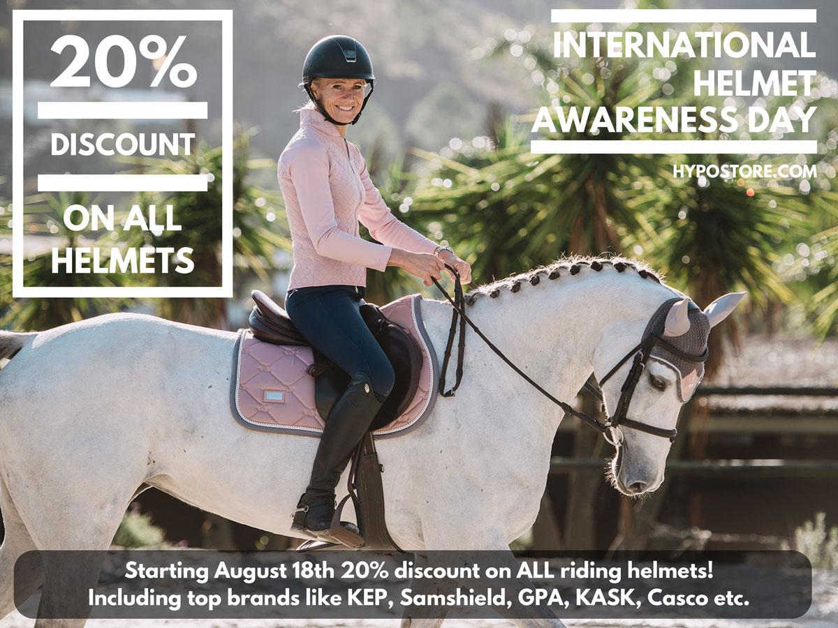 International Helmet Awareness day 2018