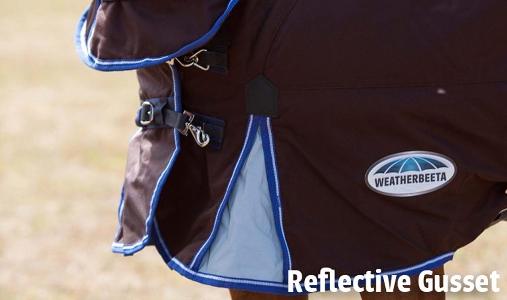 Weatherbeeta Ultra Cozi loopsplitten met reflectie