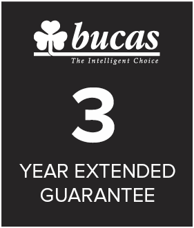 Bucas 3 year warrany